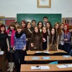 11-б в кабинете гуманитарных дисциплин