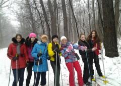 Зимовий лижний похід