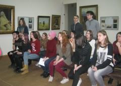 Урок в Харьковском художественном музее